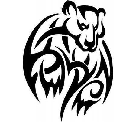 Top 10 Bear Tattoo Designs | Polar bear tattoo, Bear ...