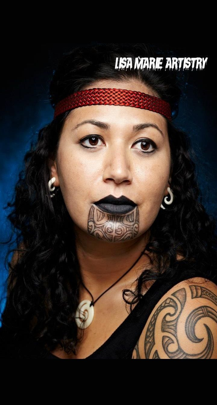Female Maori Mouth Tattoos: Tā Moko Is The Permanent Body And Face Marking By Māori