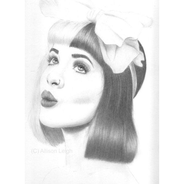 Melanie martinez drawing room decor wall art liked on polyvore featuring home also rh za pinterest