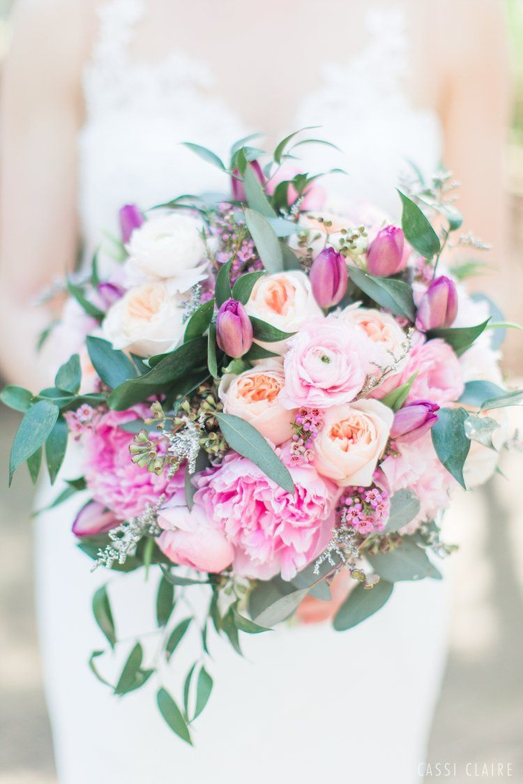 Something Purple! Sweet lilac and peony wedding bouqet - wedding ...