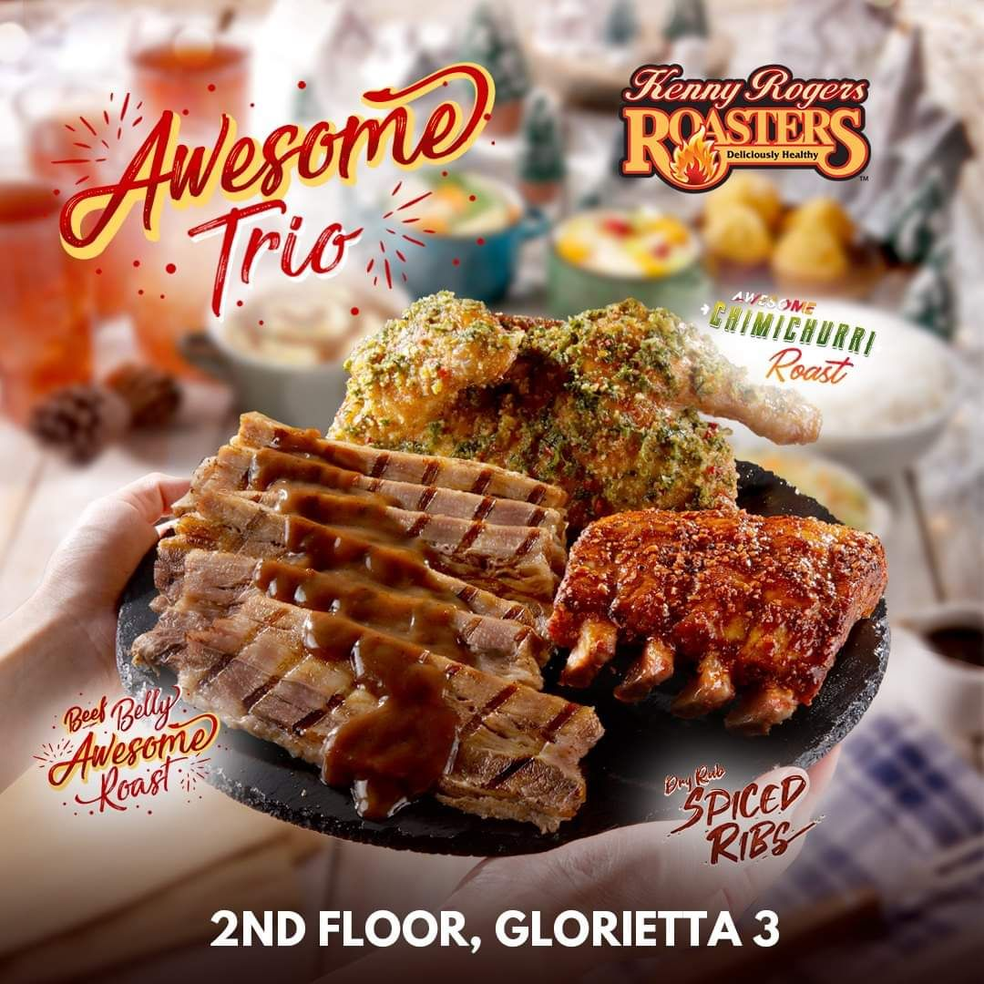 Kenny Rogers Belly Awesome Christmas With The Awesome Trio Christmas Treats Christmas Special Food