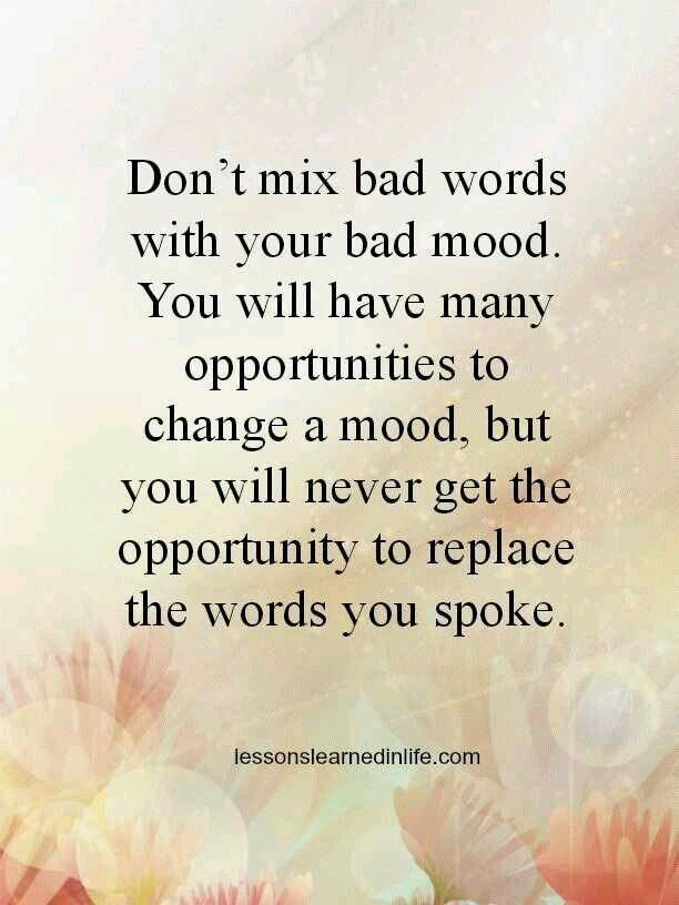 Hurtful Words Quotes 6