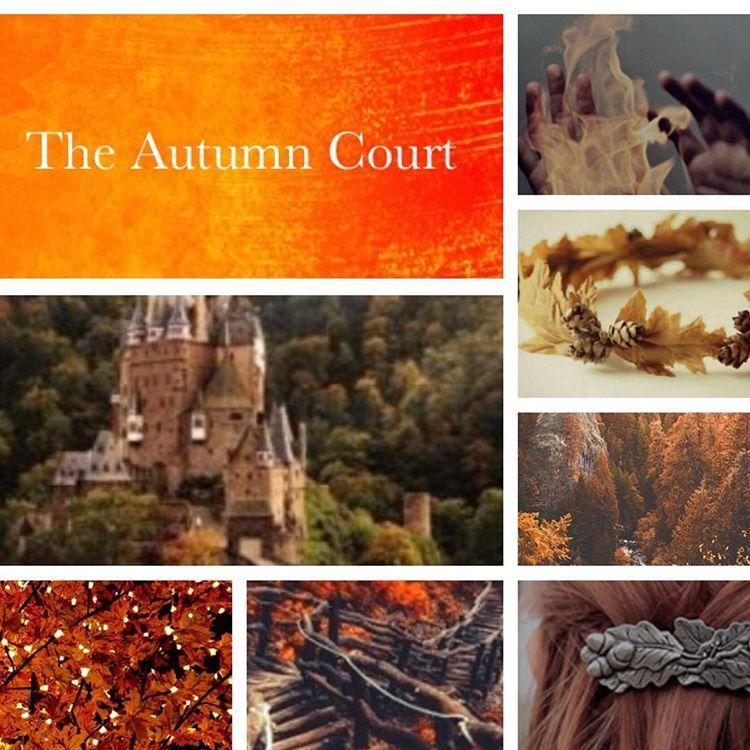 The Autumn Court Aesthetic Autumncourt Acotar