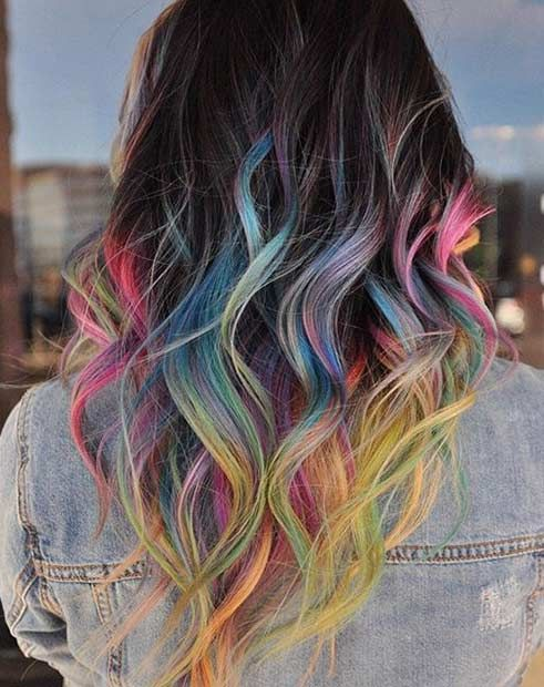 31 Colorful Hair Looks to Inspire Your Next Dye Job | Colourful ...