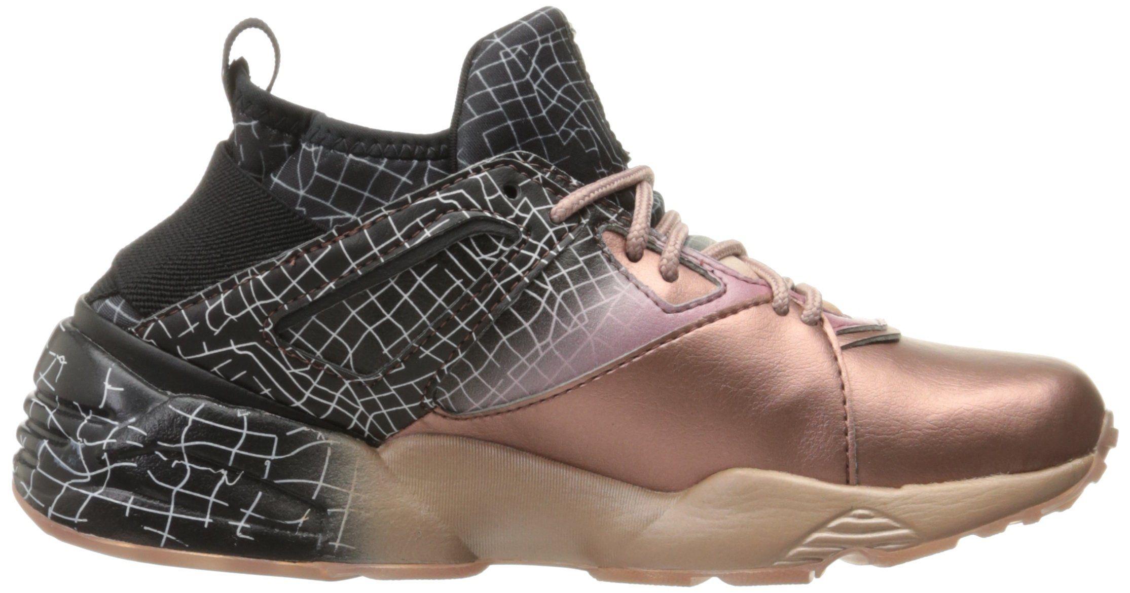 5feecc8334c PUMA Womens B.O.G Sock RG Wns CrossTrainer Shoe Rose Gold Black 9 M US  gt