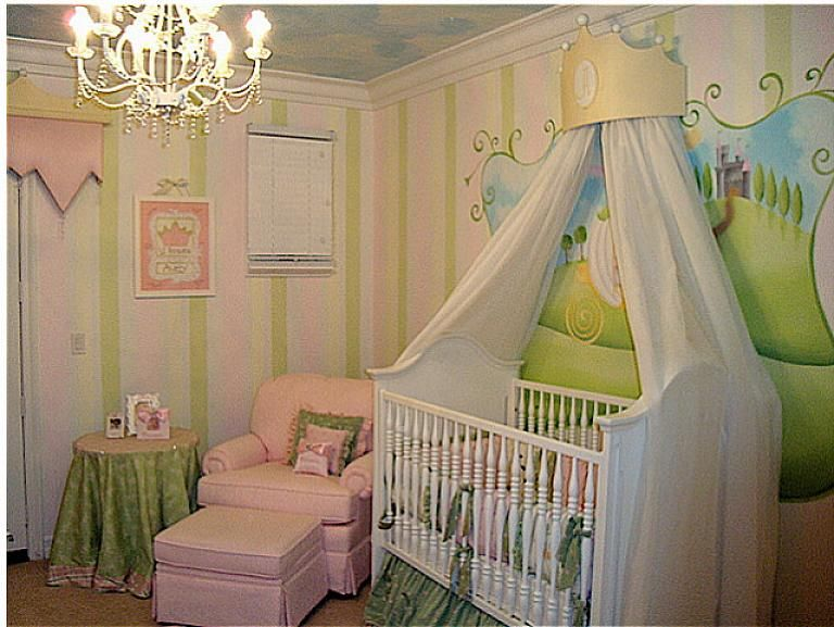 Baby Nursery Ideas With Princess Theme