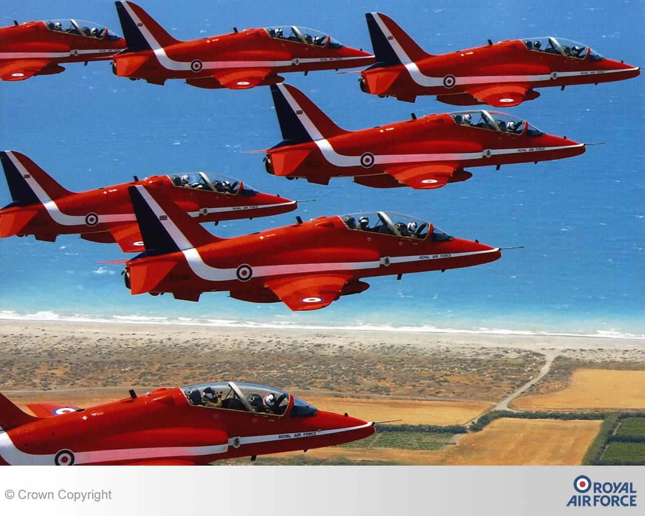 The Red Arrows ...