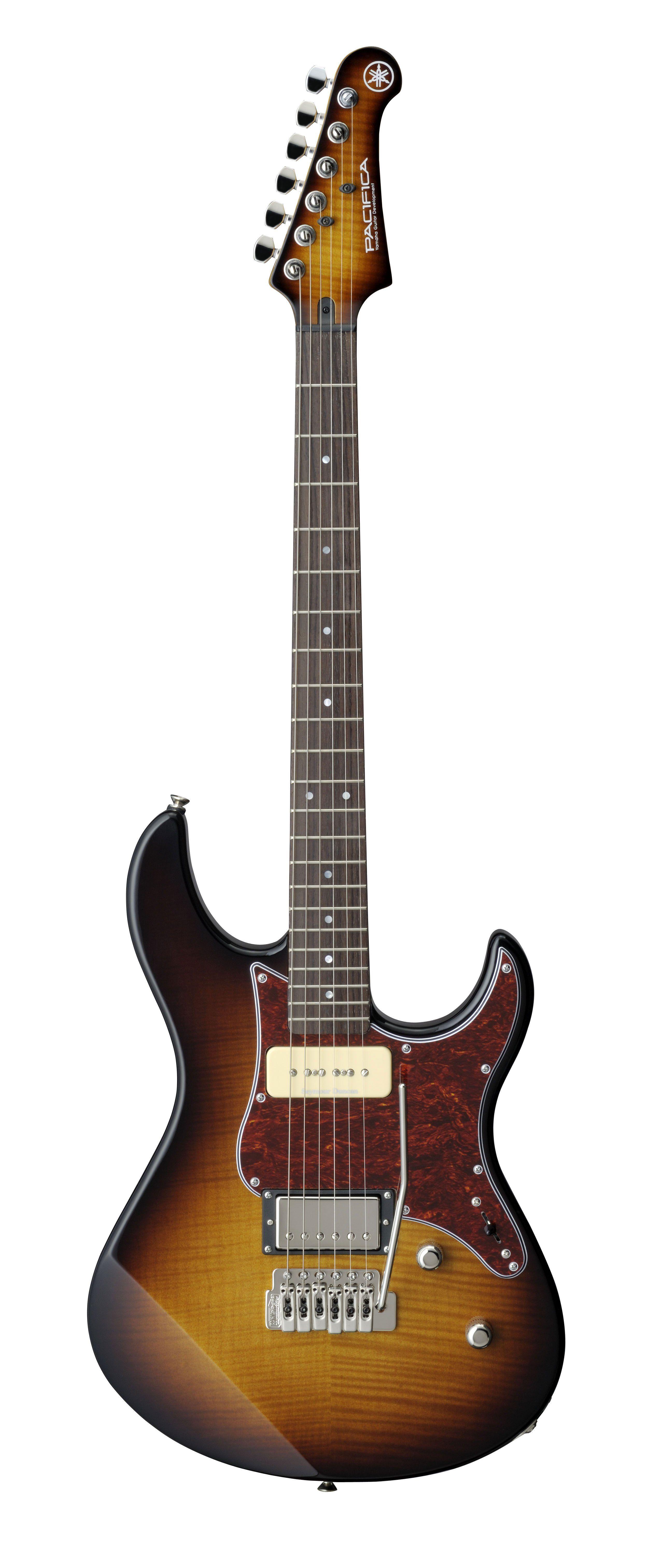 Yamaha Pac611vfm Tobacco Brown Sunburst Electric Guitar In 2020 Yamaha Guitar Guitar Electric Guitar And Amp
