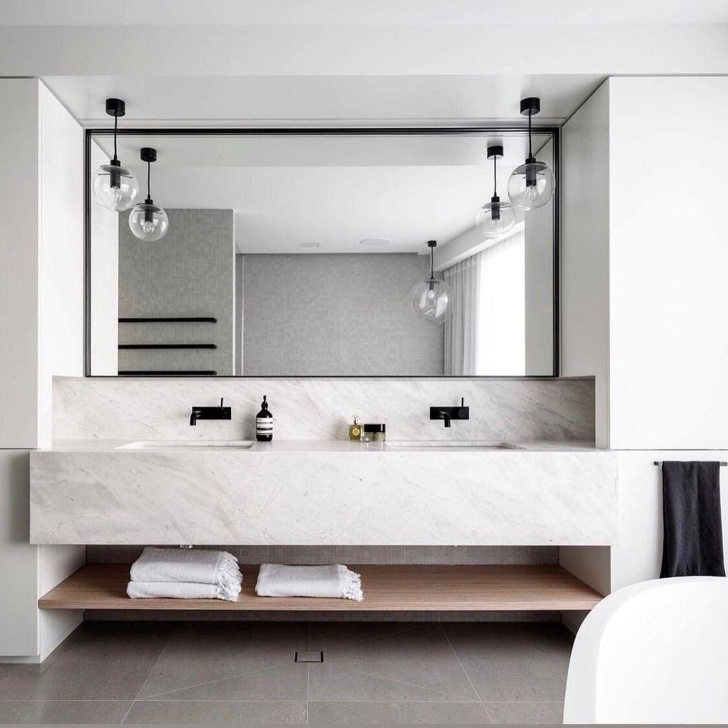 Badezimmer dekor grau minimalistdecorcontemporary  sanitary  pinterest  zuhause
