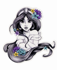 Congratulate, your Jasmine disney princesses tattoos accept