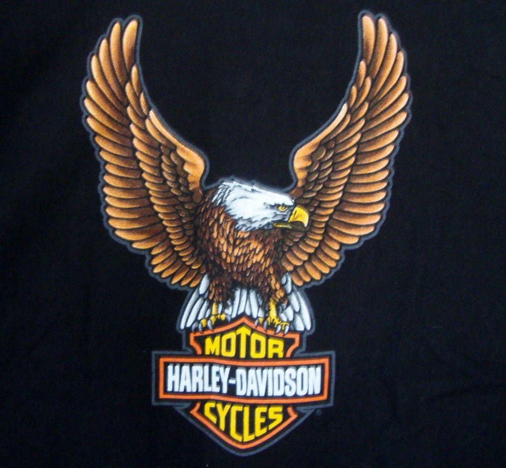 twin cities harley davidson t-shirt xl blaine minnesota eagle hd