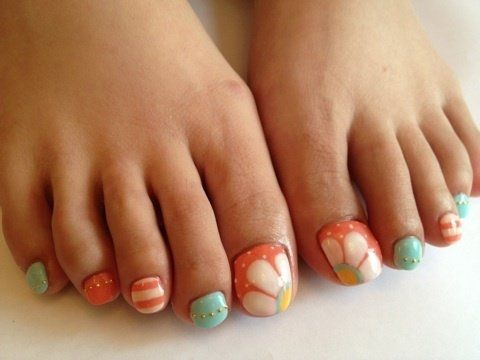 Cool Pedicure Nail Art Ideas For Fall 2012
