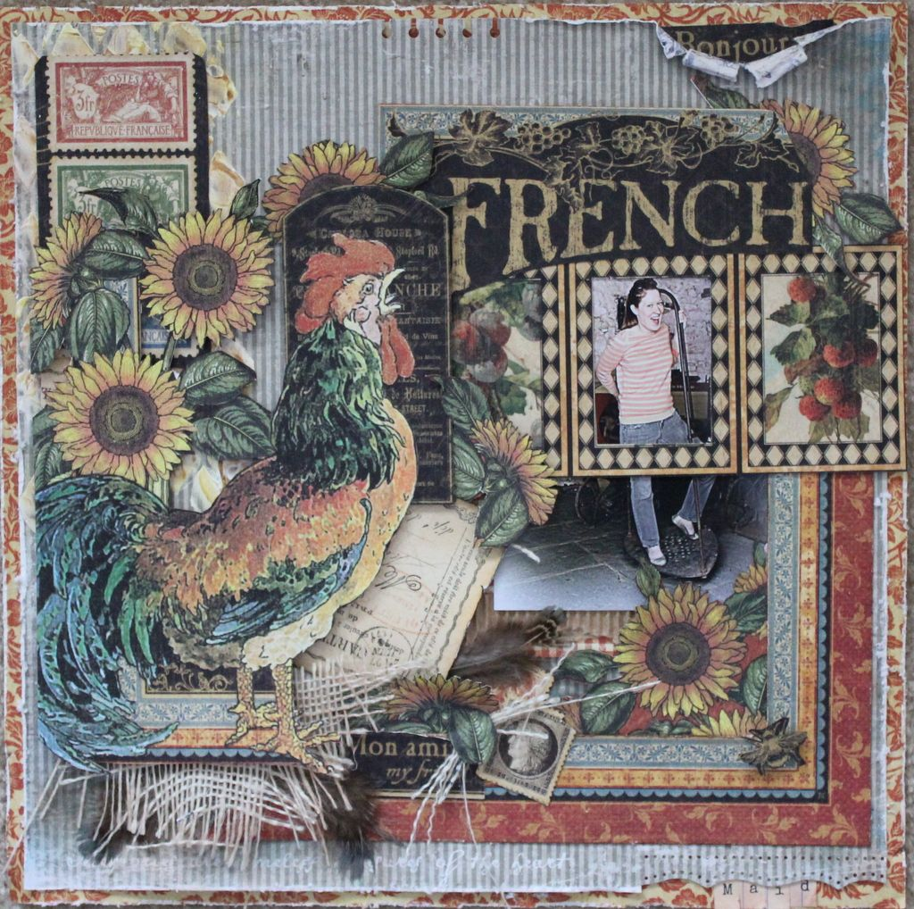 French Maid Graphic 45 French Country