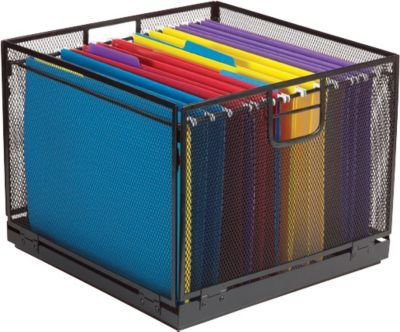 Shop Staples For Staples Collapsible Black Wire Mesh File Box Enjoy Everyday Low Prices And Get Everything Yo With Images File Box File Boxes Office Supply Organization