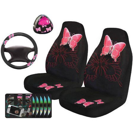 Auto Drive Butterfly Automotive Car Kit 5 Piece