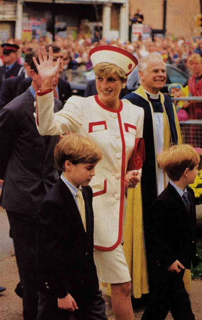 Diana & William & Harry
