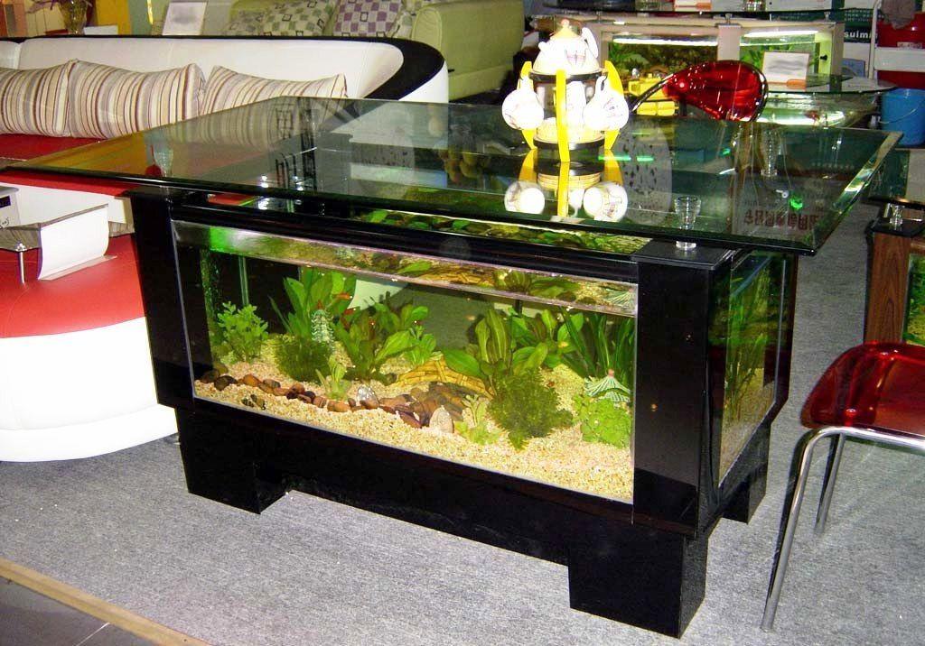 ツ 35+ contoh model dan harga meja tamu aquarium unik dari