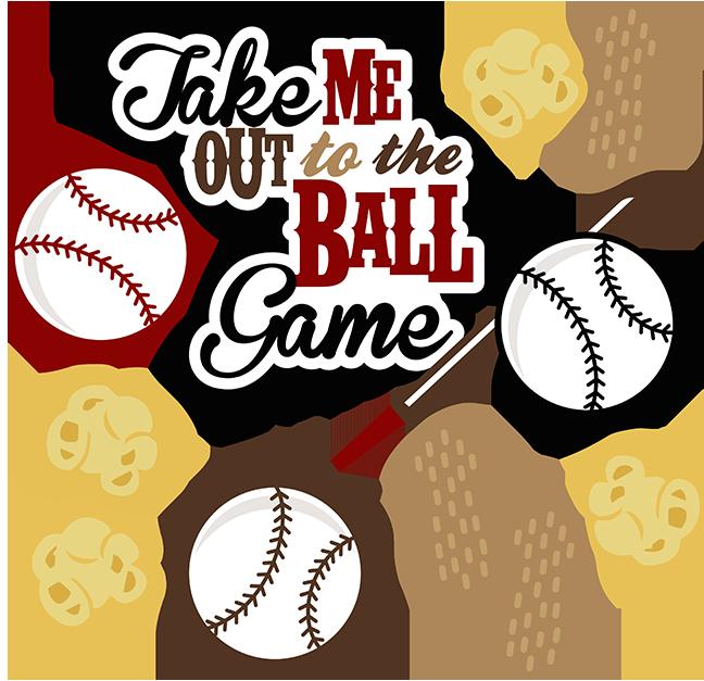 Take Me Out To The Ballgame... Baseball scrapbook