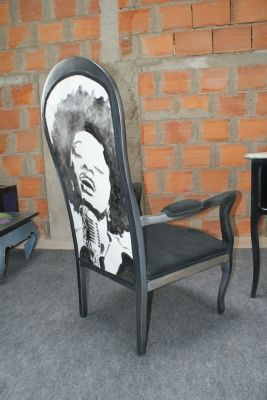 Les Filles D A Cote Apres Vous Avez Relooke Un Meuble Montrez Nous Fauteuil Deco Mobilier De Salon Chaise Victorienne