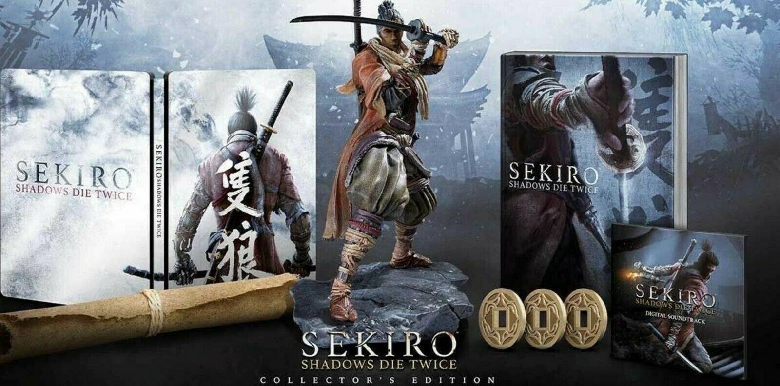 SEKIRO SHADOWS DIE TWICE Geo Limited Steel Book