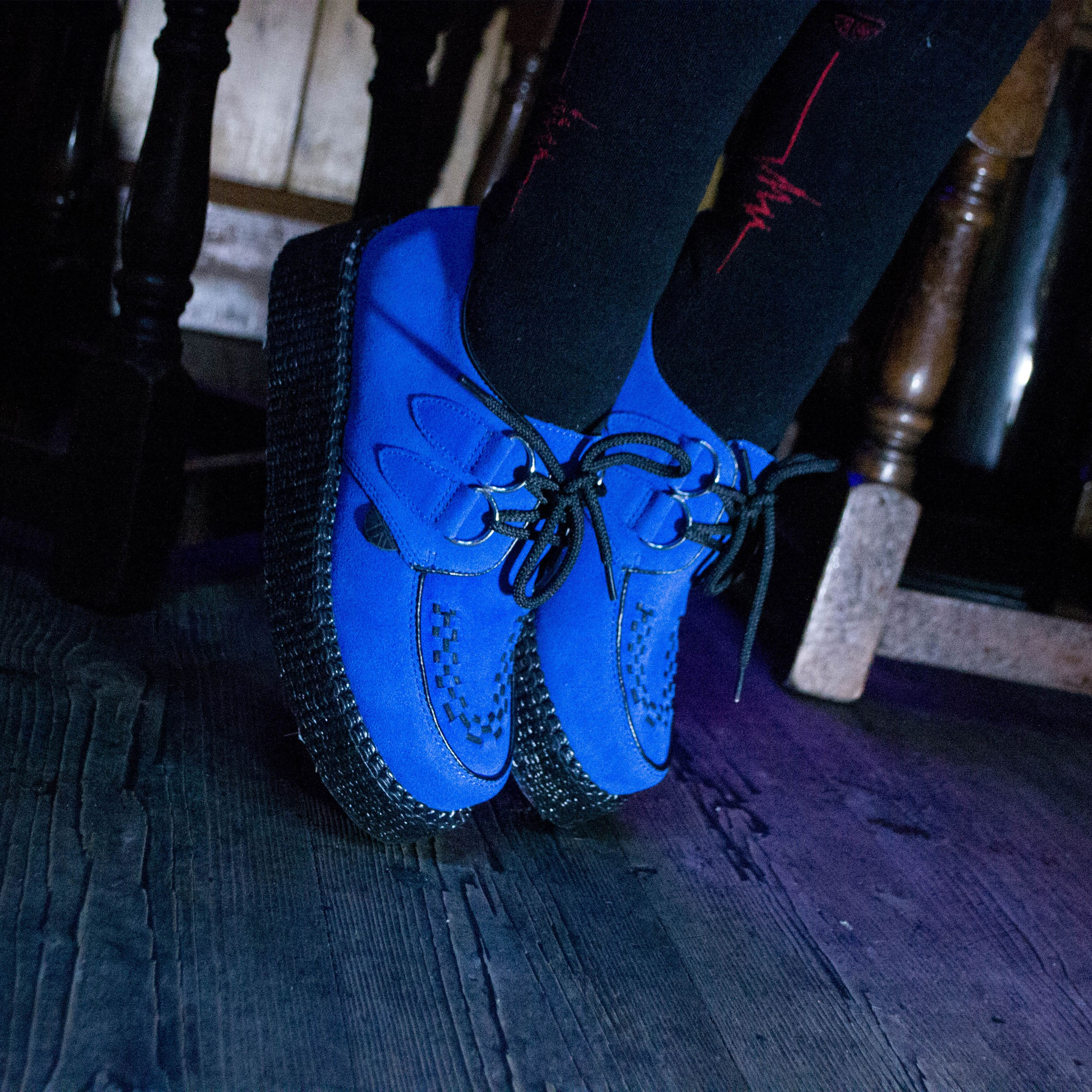 c304f5a1a2bdc The Original Wulfrun Creeper- blue suede shoes of course. Available in an  array of