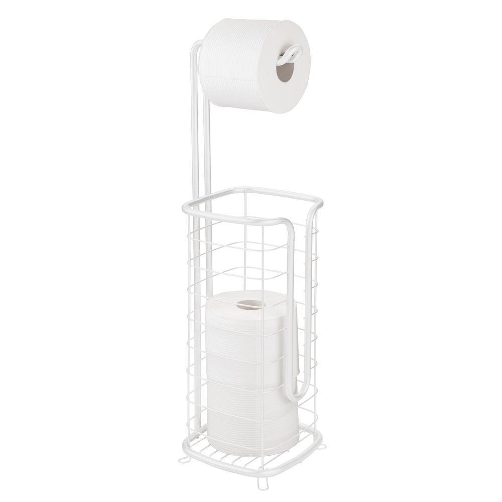 Square Toilet Tissue Paper Roll Holder Dispenser Toilet Paper