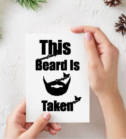 Custom decals custom transfers beard beard decal beard transfer funny funny decal funny transfer gift for him beard gift funny decals etsy