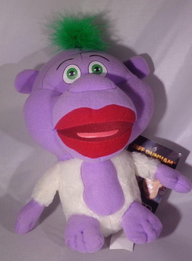 Jeff Dunham Peanut Monkey Plush Stuffed Toy Doll Souvenir 7
