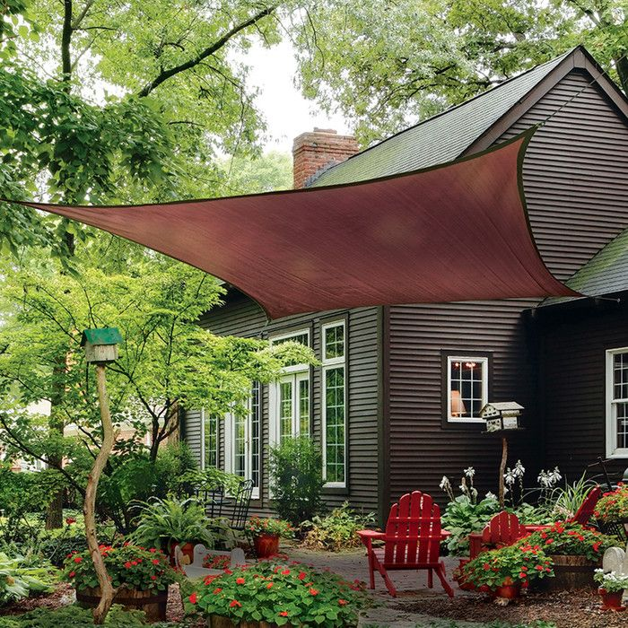 shop wayfair for all shade sails to match every style and budget enjoy free shipping - Wayfair Hot Tub