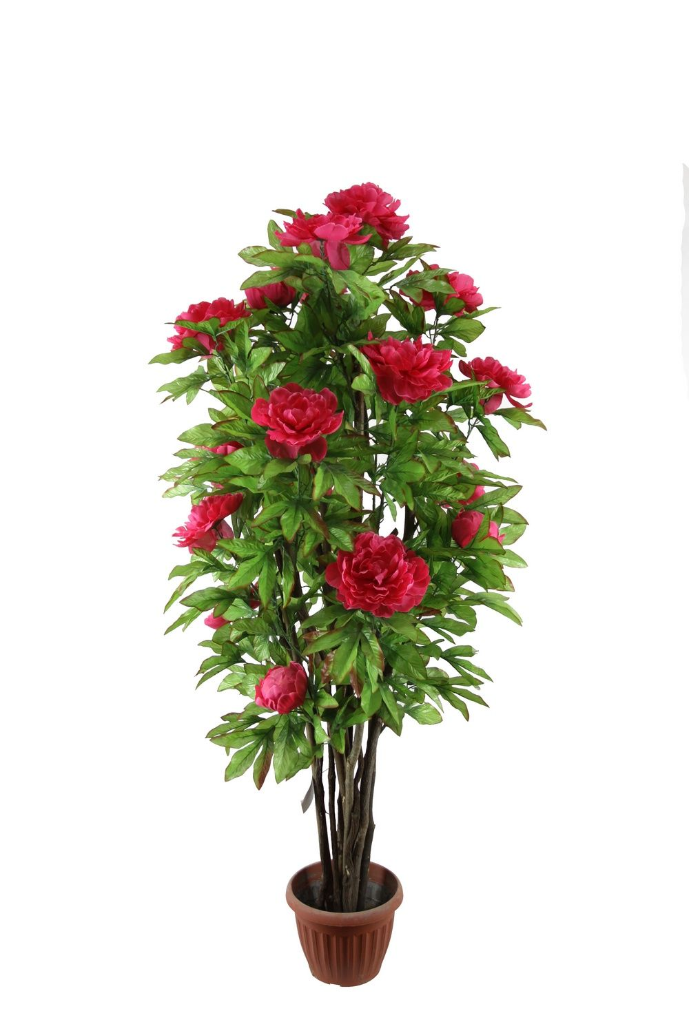 silk flower tree artificial plants and flowers artificial peony tree 2221