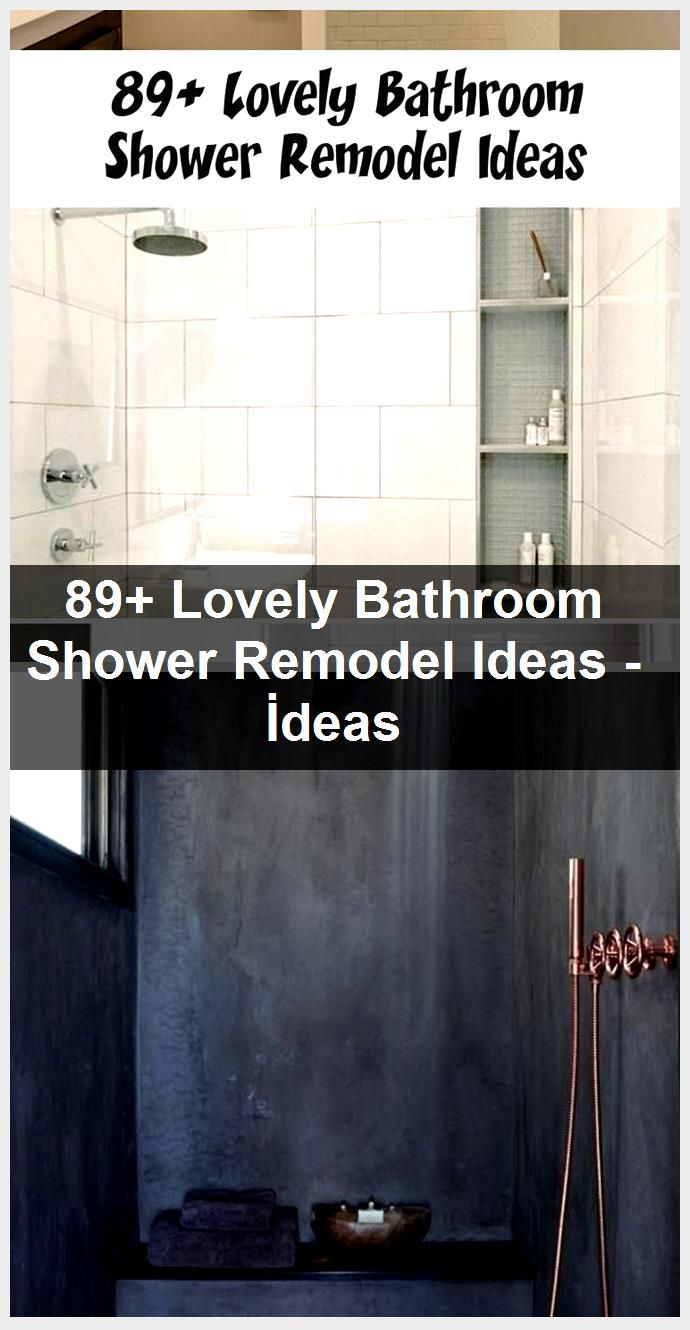 Photo of 89+ Lovely Bathroom Shower Remodel Ideas – İdeas,  #Bathroom #ideas #Lovely #remodel #Shower