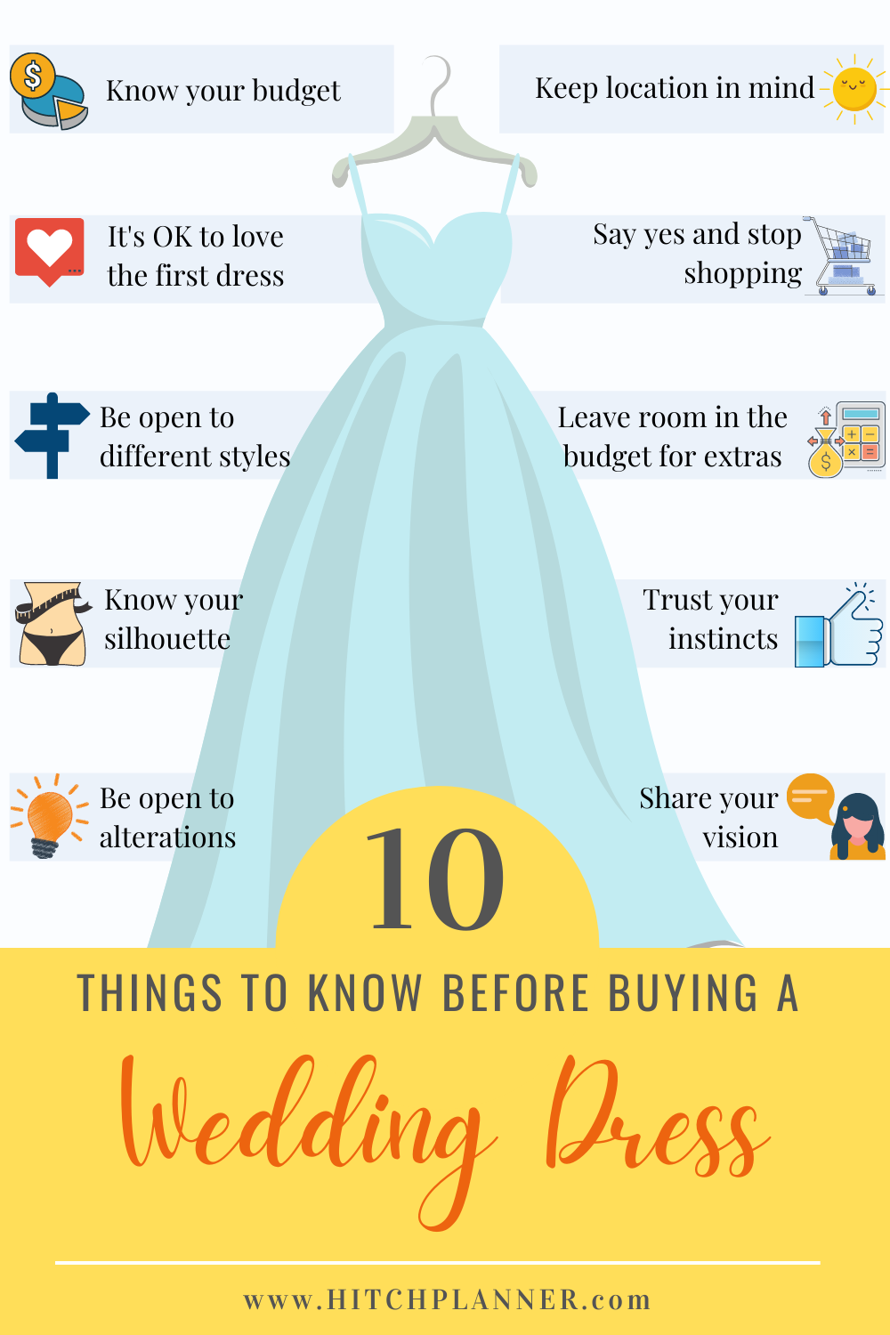 How To Choose Your Wedding Dress Stress Free Wedding Planning Wedding Cost Checklist Wedding Day Itinerary