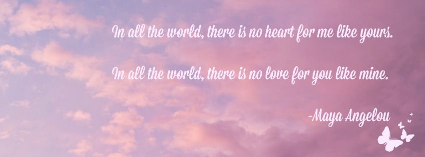 Maya Angelou love quote (Facebook cover photo size) | Quotes ...