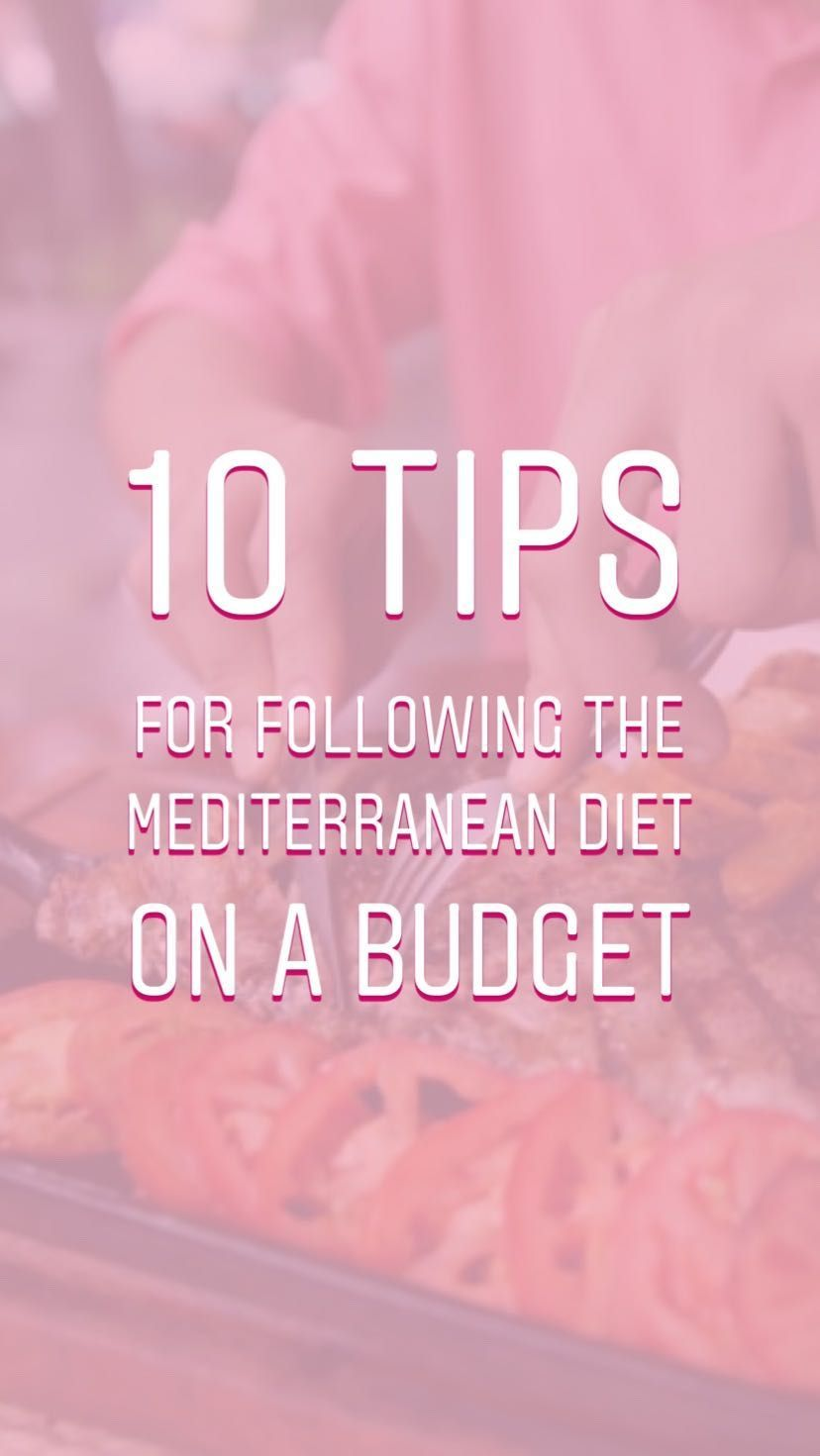10 tips for following the Mediterranean diet on a budget