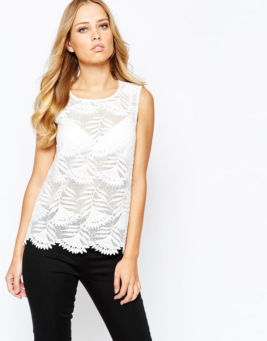 Y.A.S Lux Lace Top