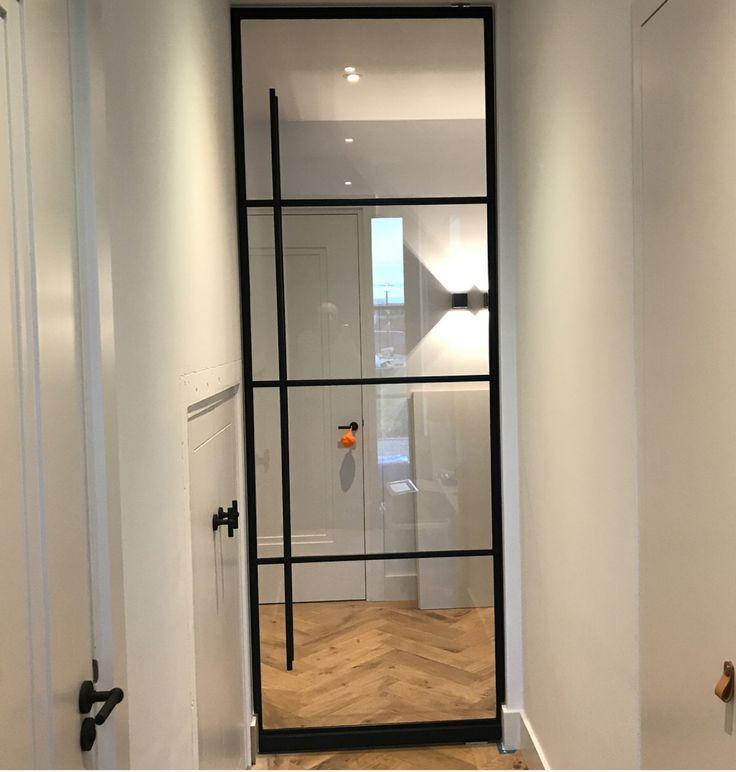 4 level steel door mounted. Customer completely happy #dehoutf …