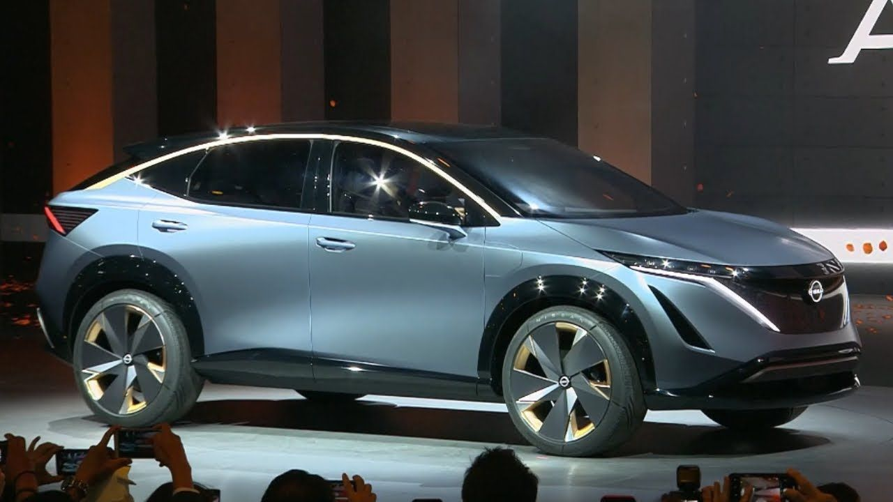 2020 Nissan Ariya Concept Electric Suv Unveiled Nissan Suv Tokyo Motor Show