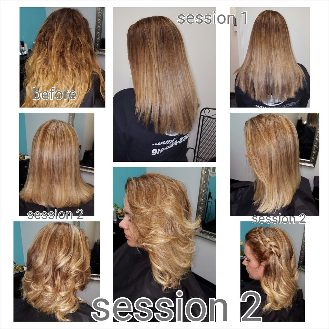 Bad ombre turned into beautiful suttle ombre www.thestyleroomhairsalon.com