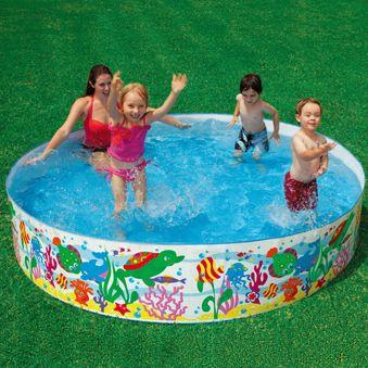 Intex Snapset Pool Intex Ocean Reef Snapset Pool Children Swimming Pool Portable Swimming Pools Inflatable Swimming Pool