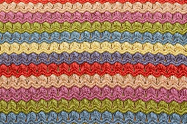 Photo Tutorial] Free Crochet Afghan Patterns-Vintage Fan Ripple ...