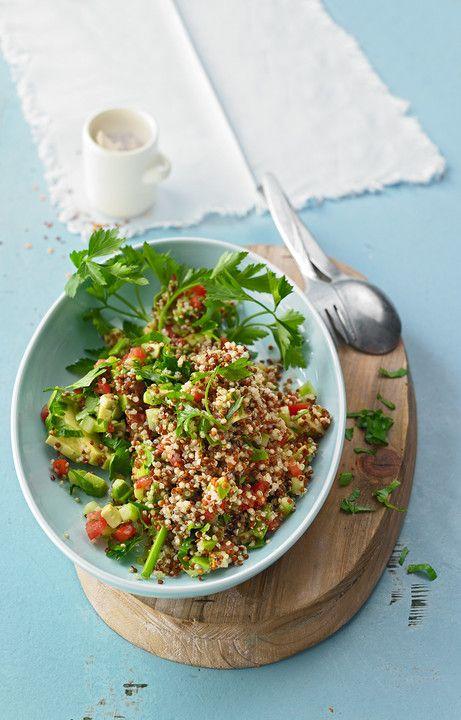 Quinoa Powersalat mit Tomaten und Avocado von Kapelonia | Chefkoch