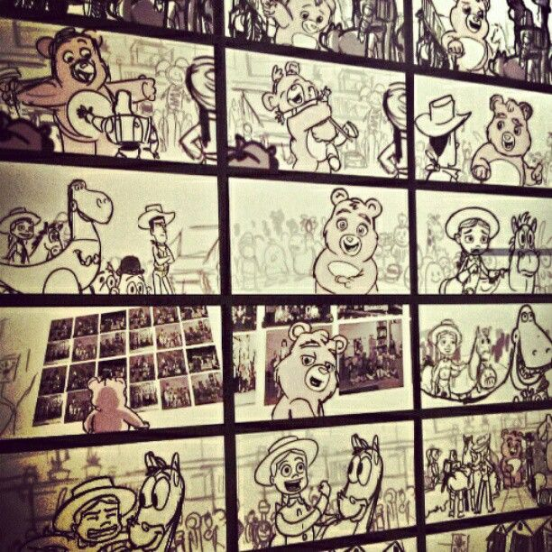 Line Drawings From Toy Story  Movie Some Seem To Have A Lot Of