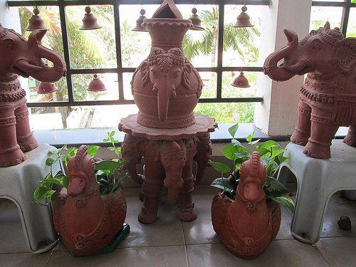 Photo of Garden Tour – Vijayalakshmi Krishnan's terracotta infused balcony garden in Bangalore