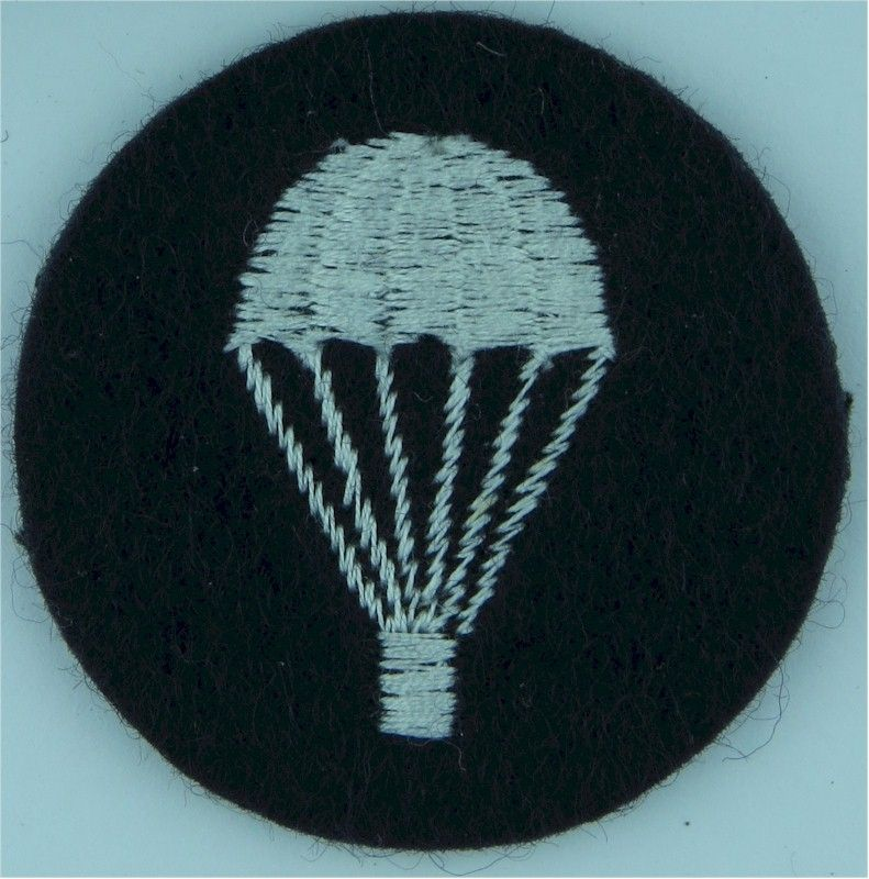UK Royal Air Force Parachute (Light-Bulb) (Circular) White