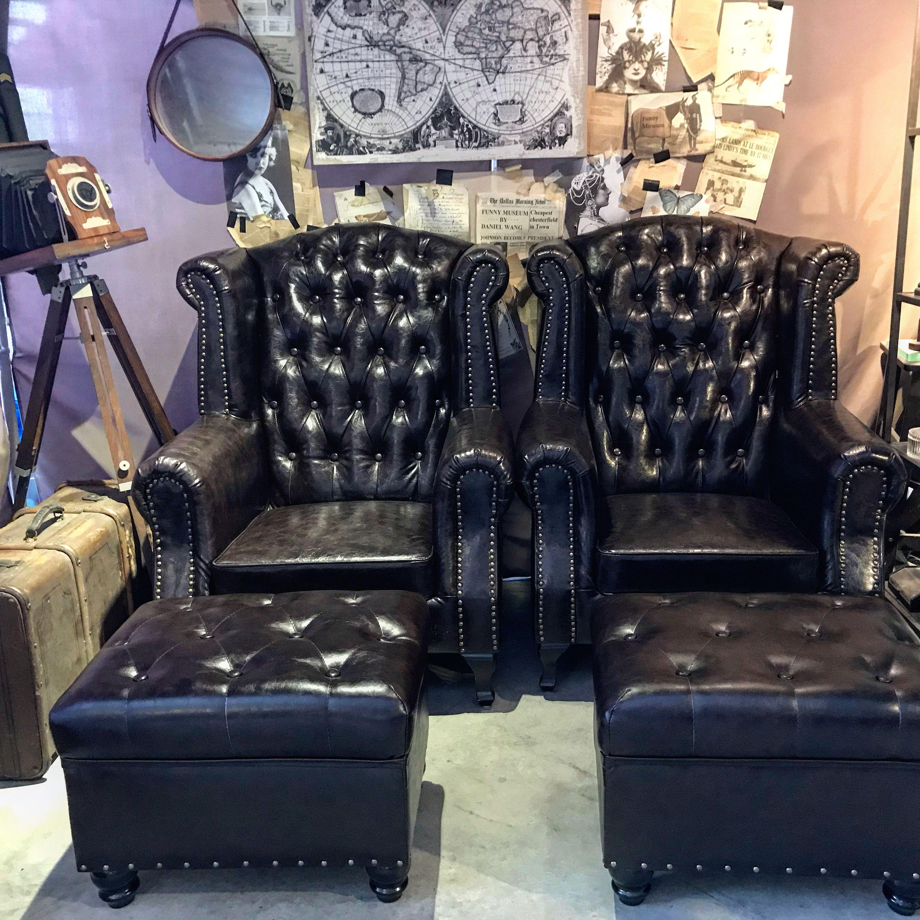 chesterfield gentlemen armchair in 2020 | Armchairs for ...