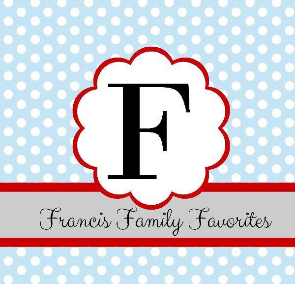 Haga clic para obtener una vista previa Francis Family Favorites libro de fotografías