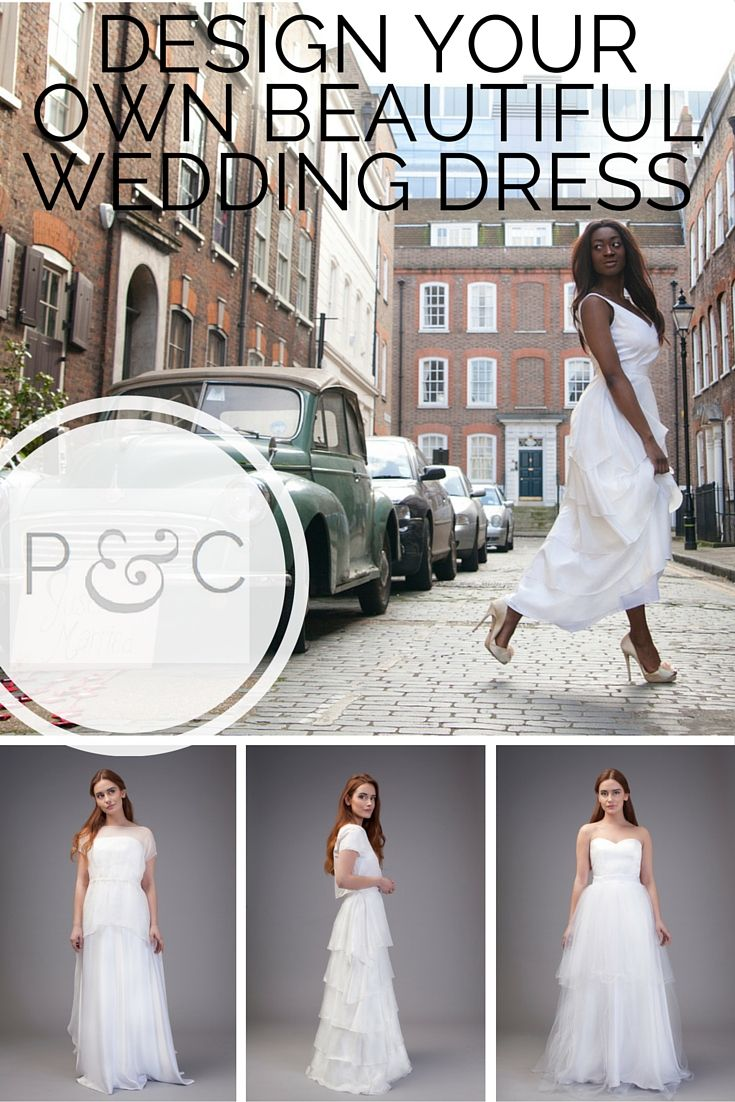 In a few easy steps, you can create your own beautiful wedding dress ...