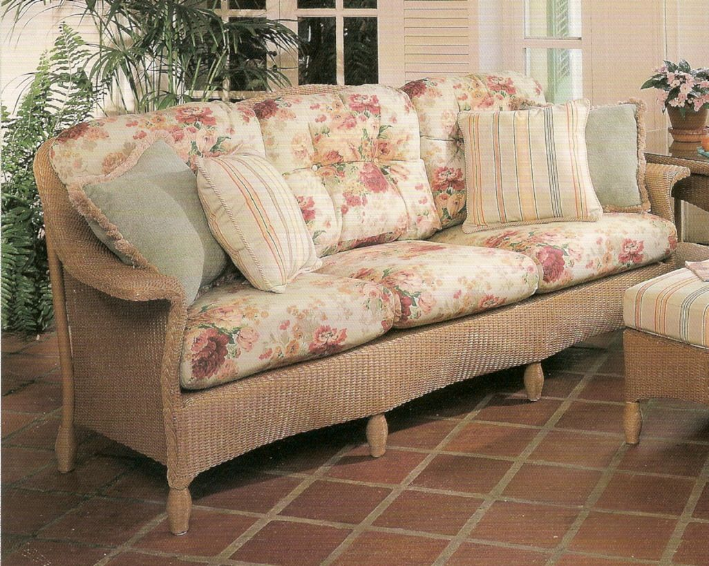 Lloyd Flanders Embassy Sofa Replacement Cushions With Images
