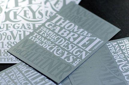 Typejockeys Business Cards