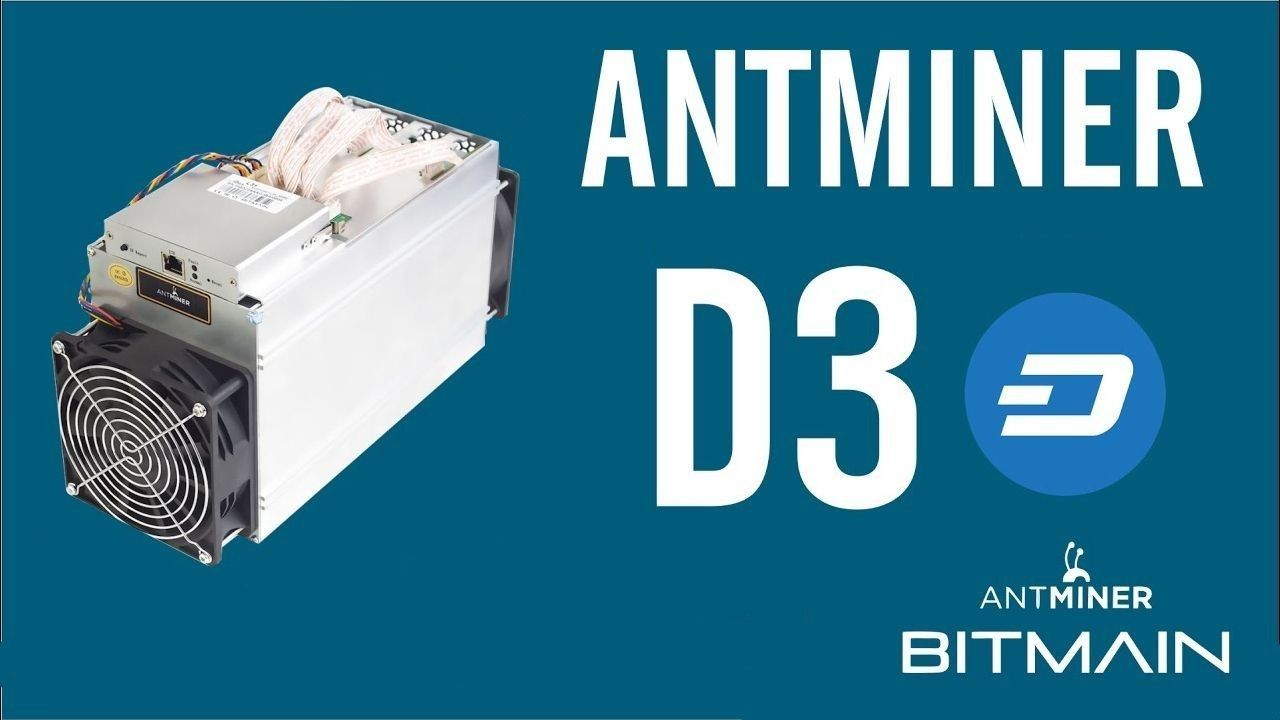 Bitmain AntMiner D3 custom firmware digital download NOFEES
